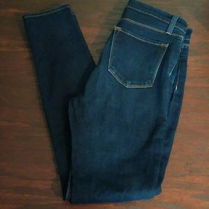 J Brand High Waisted Maria Starless Skinny Jeans